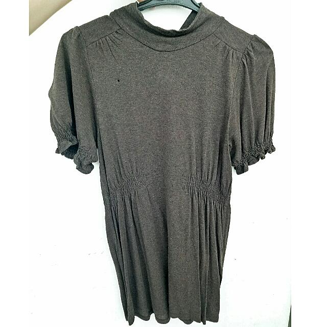 PRELOVED - Zara Basic Turtle Neck Shirt