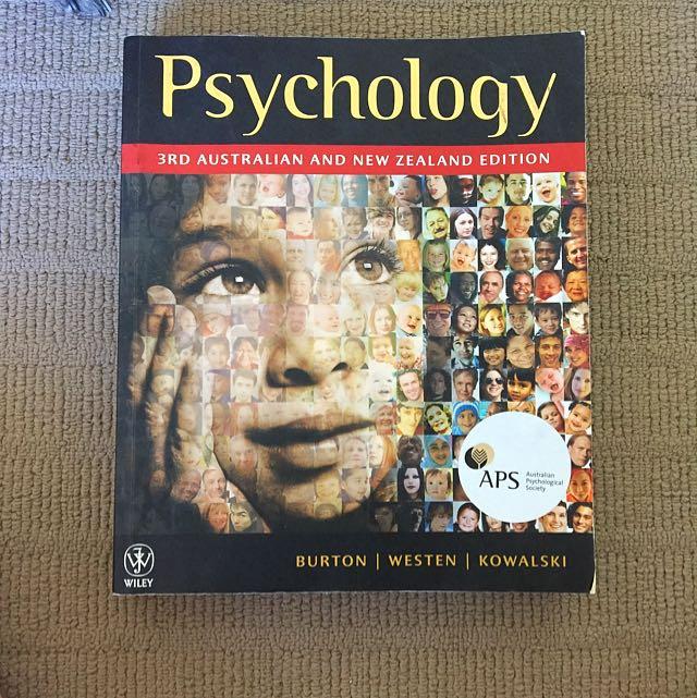 Psychology 3rd Edition Textbook