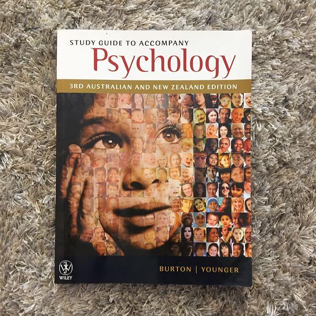 Psychology A Study Guide