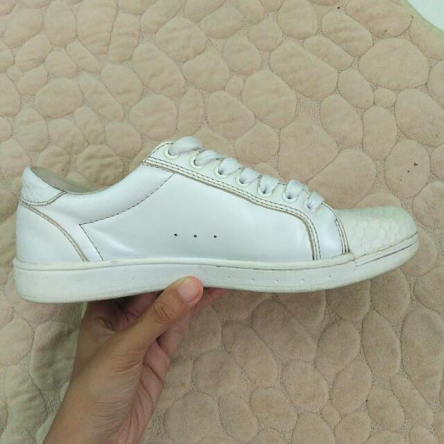 Pull&Bear White Sneakers 38