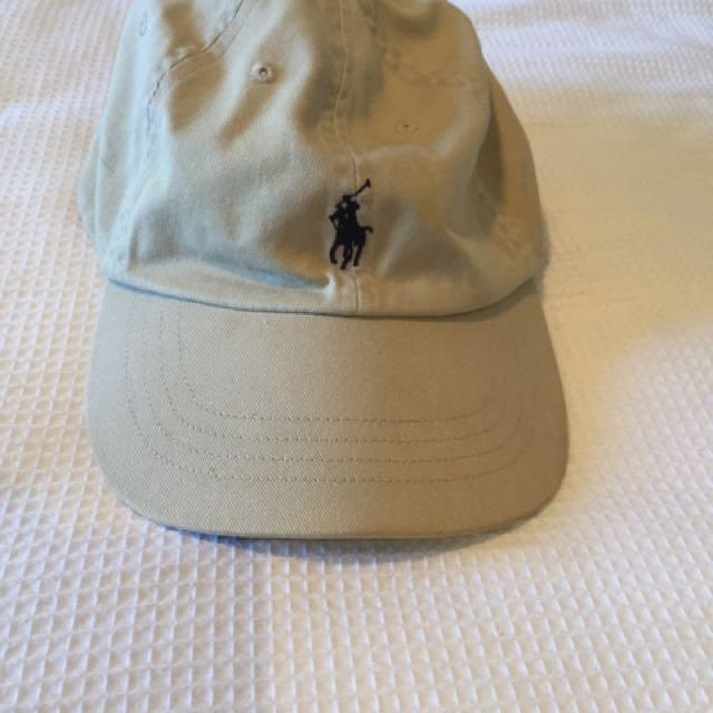 Ralph Lauren Polo Beige Cap