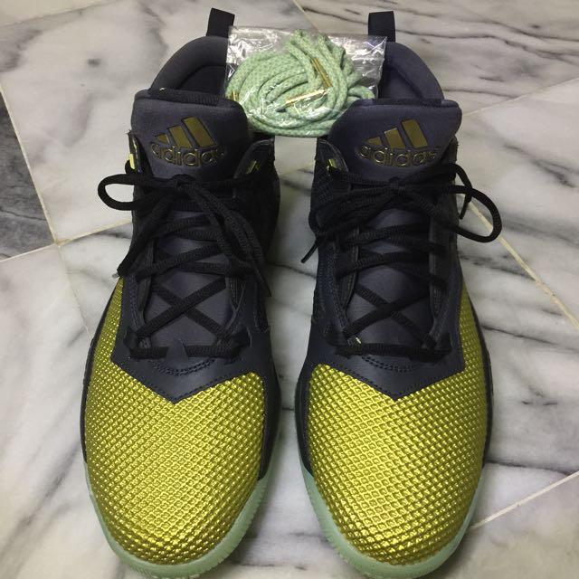 competitive price 98693 92df5 RARE adidas D Lillard 2 Fools Gold Mens, Mens Fashion, Footwear on  Carousell