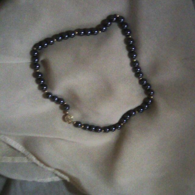 Repriced!! Preloved Genuine Stone Necklace