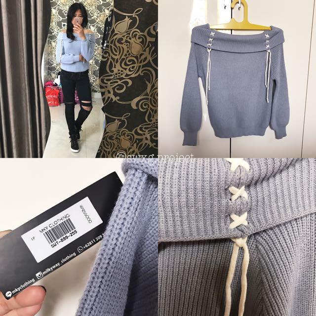 Sabrina Rajut / Sabrina Rope Sweater