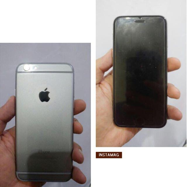 SALE!! IPHONE6 64GB GREY (nego)