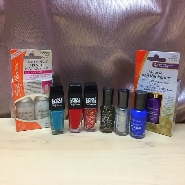 Sally Hansen Nail Products