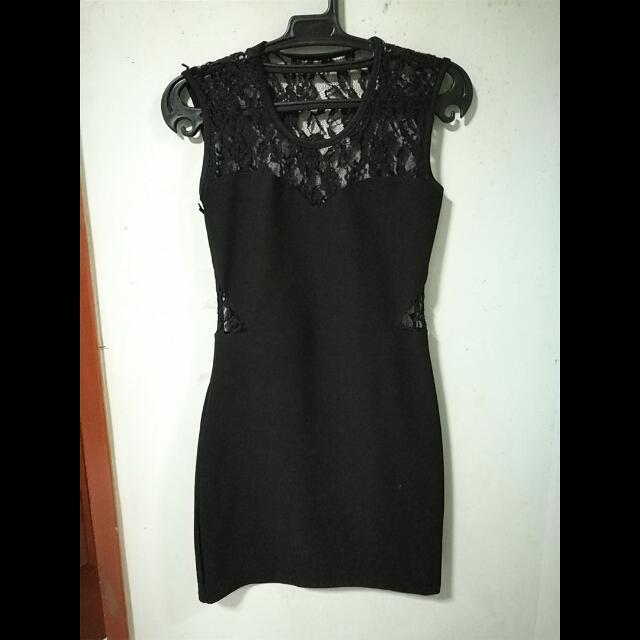 Sexy Elegant Bodycon Black Dress