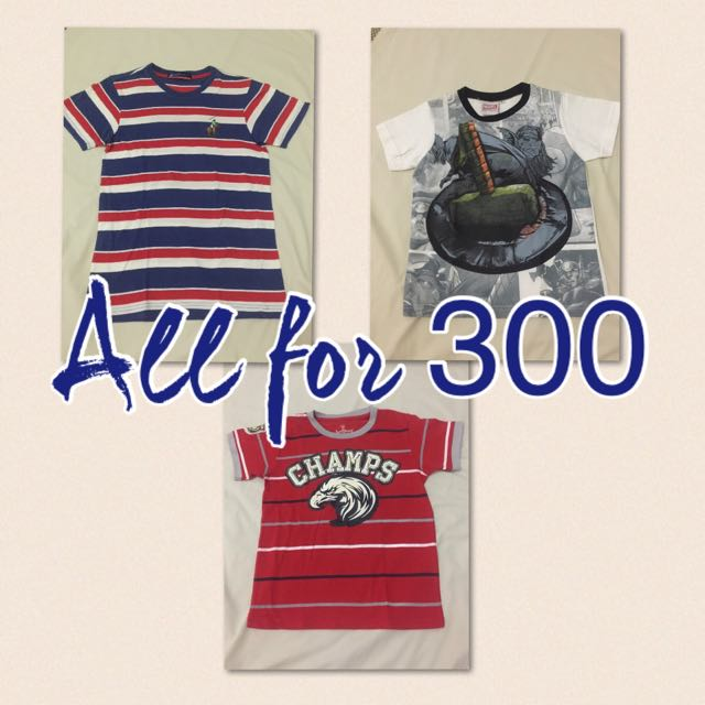 Shirt Bundle 3@300