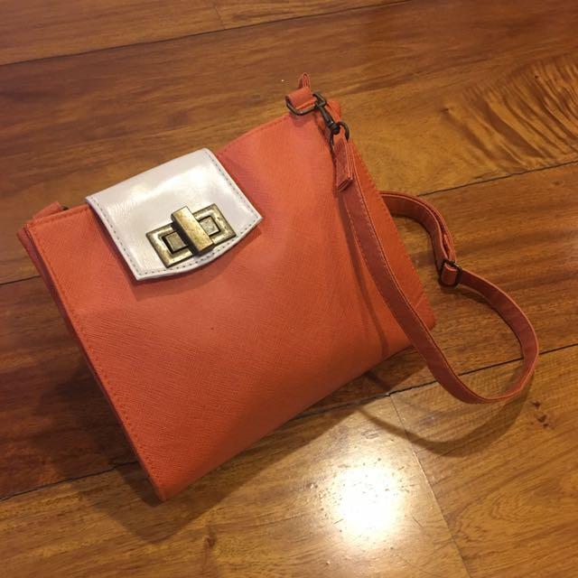 Solo Orange Sling Bag