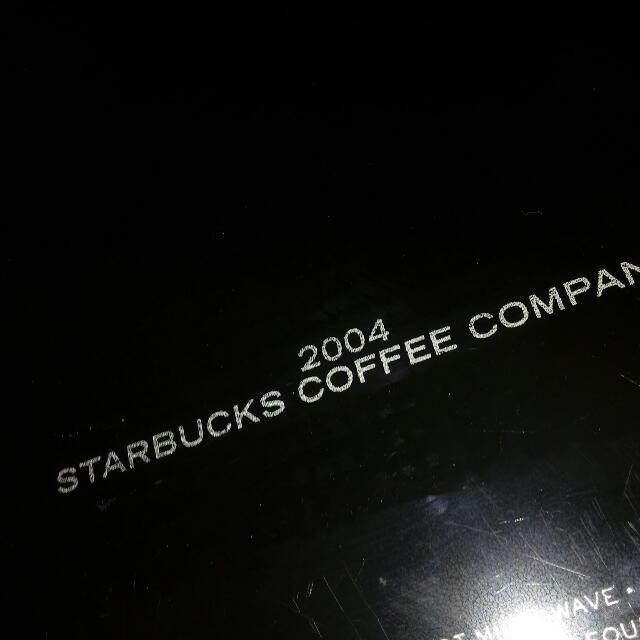 Starbucks Tray