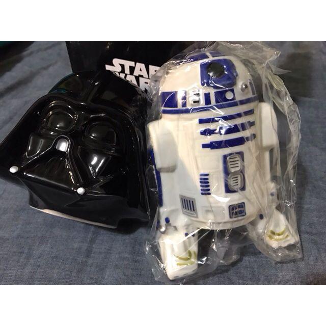【銷庫存大降價定價再95折sale】StarWars 星際大戰 存錢桶 - R2d2 & Darth Vader