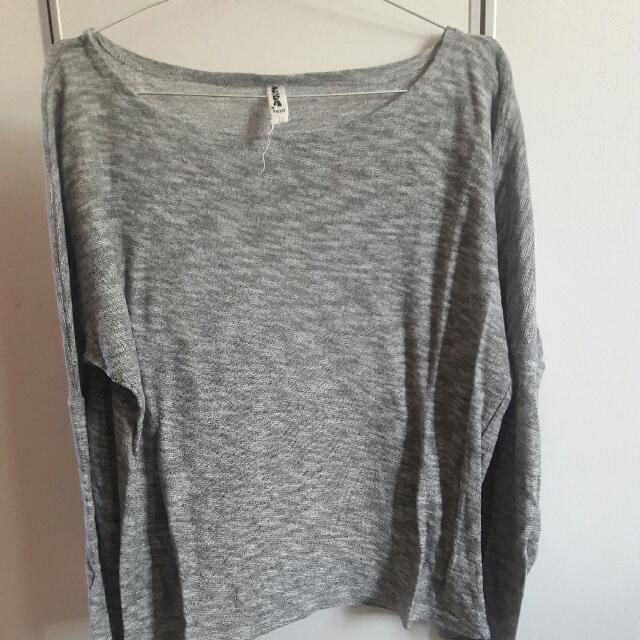 Sweatshirt In Grey