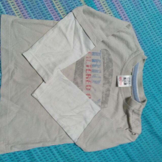 T Shirt Lengan Panjang Zara Baby