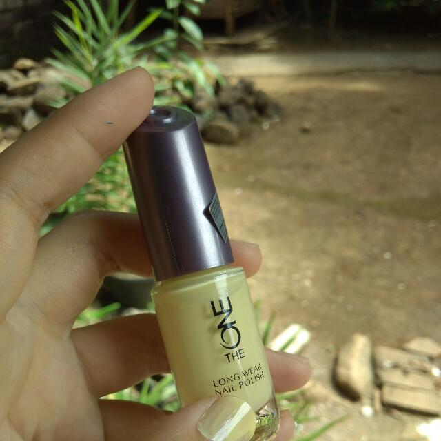 The One Nail Colour (Lime) By Oriflame