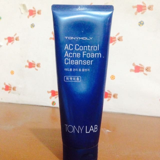 Tony Moly Facial Wash Authentic
