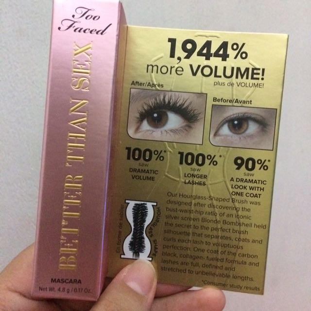 Too Faced Better Than Sex Mascara