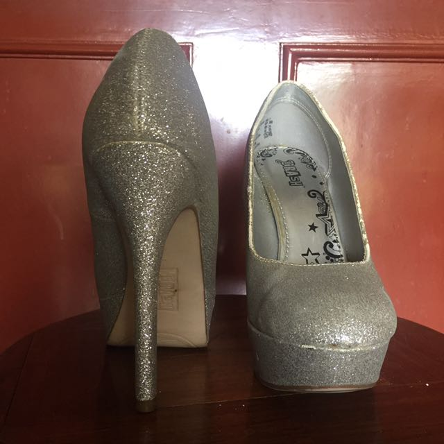 Brash (From Payless Store) - Silver High Heels