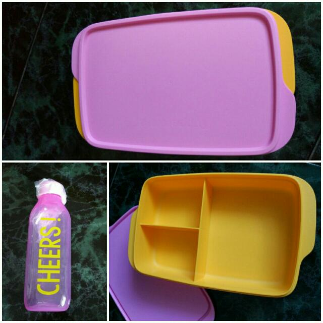 Tupperware Pinky 1 Set