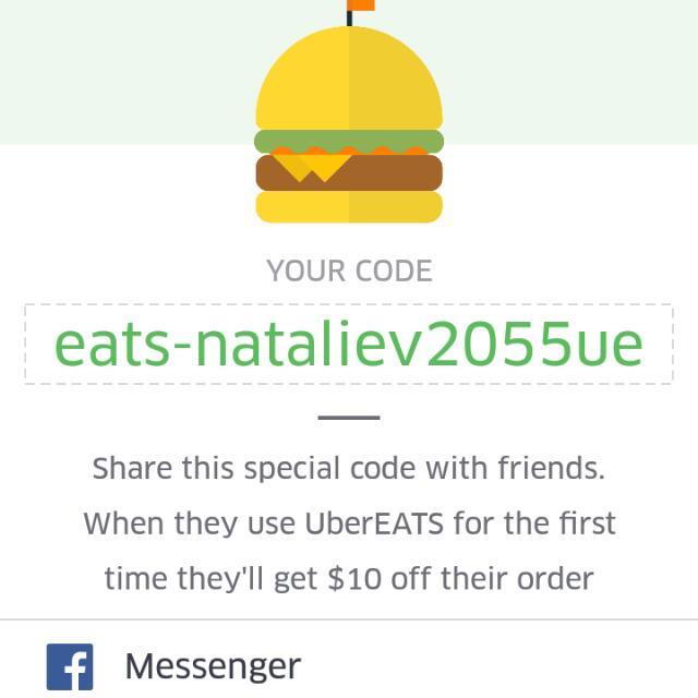 Uber Eats $10 Discount