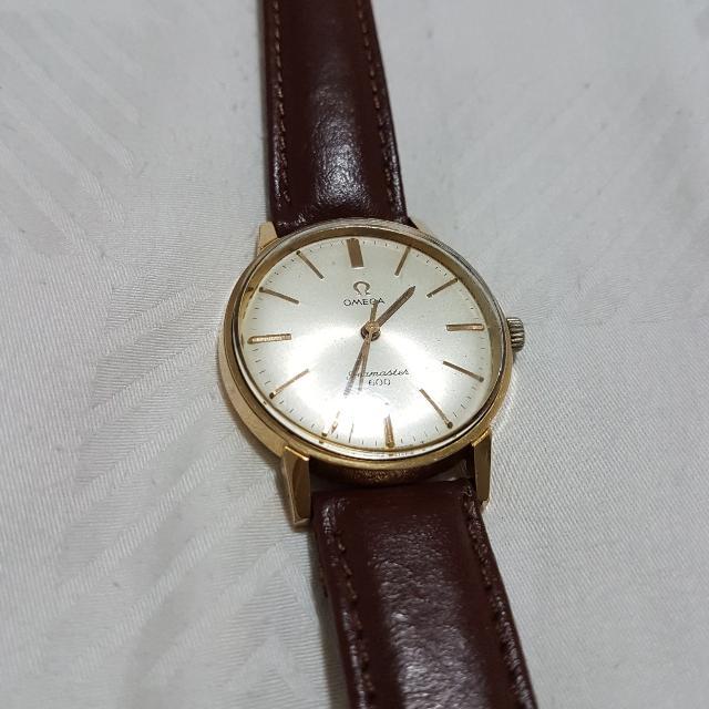 e173bcd0ec023 Vintage Omega Seamaster 600 Cal 601 40 Micron Gold plated Men s ...