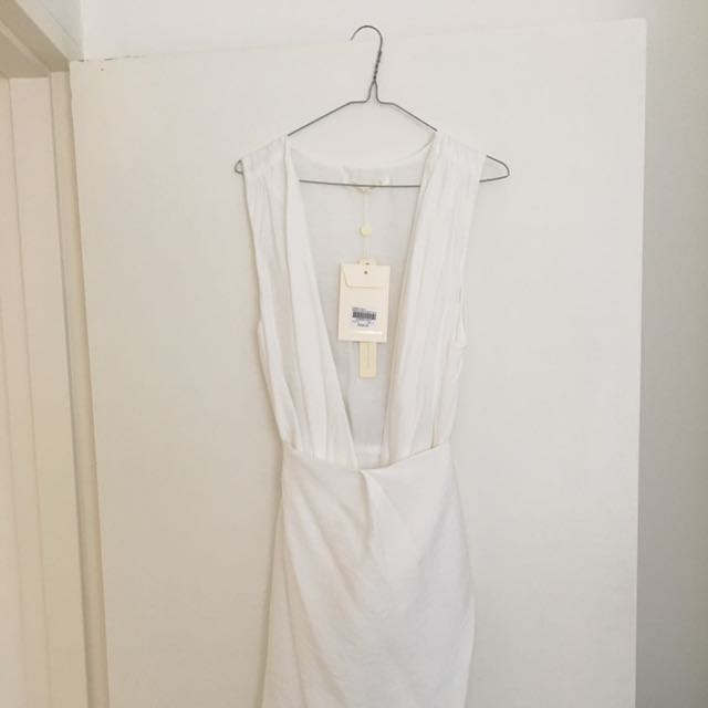 Winona white Wrap dress, Size 12