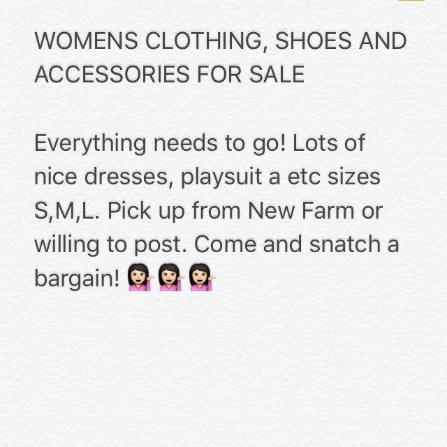 Womens Clothing!