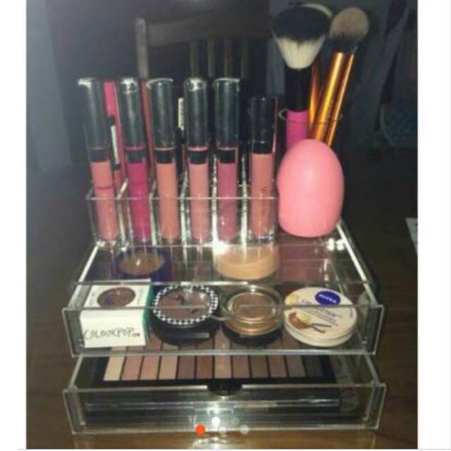 Free Ongkir Acrylic Make Up Organizer Type E1