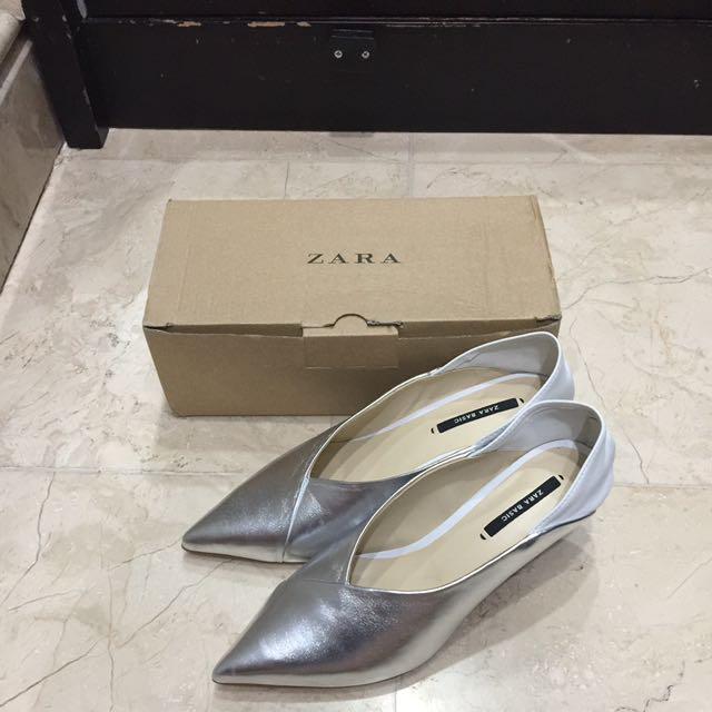 Zara Silver Shoes