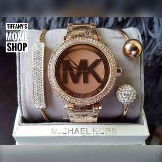 Authentic MK Watch Set