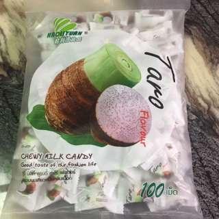 泰國 超夯 水果夾心軟糖 脆皮軟糖 香蕉 芋頭 西瓜 草莓 荔枝 玉米