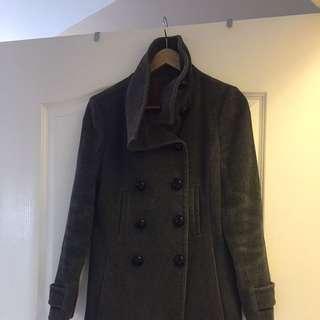 Aritzia Wool Pea Coat