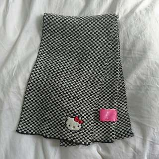 Hello Kitty Houndstooth Scarf