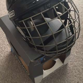 Large Youth Bauer Hockey Helmet
