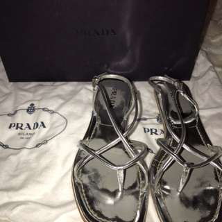 Authentic Prada Sandals