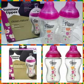 Tommee Tippee Bottle Pink 340ml/11oz