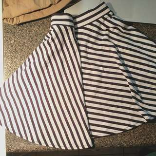 Guess Stripped Skirt