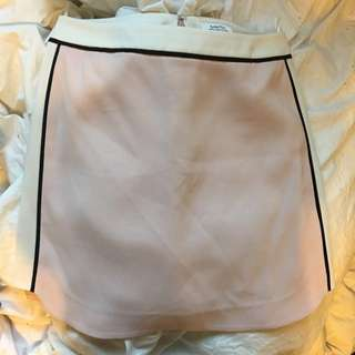 Aritzia Pink And White Skirt Size 0