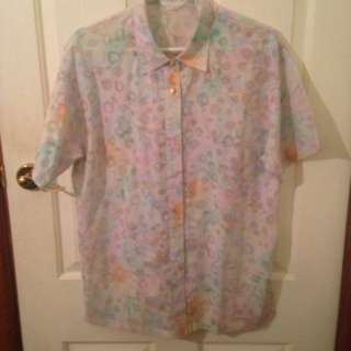 Hawaiian Button Shirt