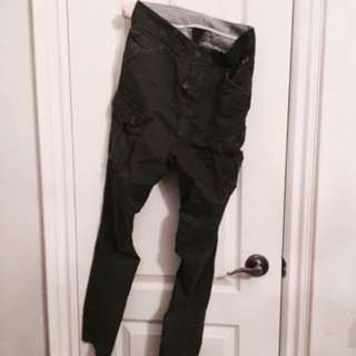 G Star Drop Crotch Pants