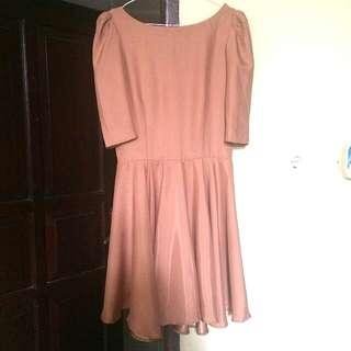 Dress Pesta Pink - REPRICE