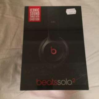 Beats Solo 2 Headphones - Brand New