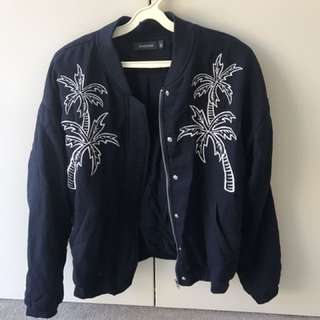 Glassons Palm Tree Bomber Jacket