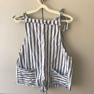 Stellino Striped Jumpsuit/playsuit