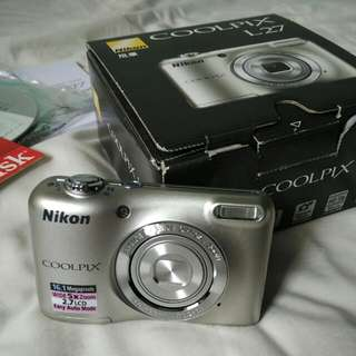 BNIB Nikon Coolpix L27 Compact 16.1MP Camera