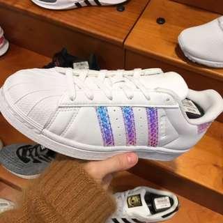 美國代購Adidas 蛇鱗 霓虹 Superstar預購