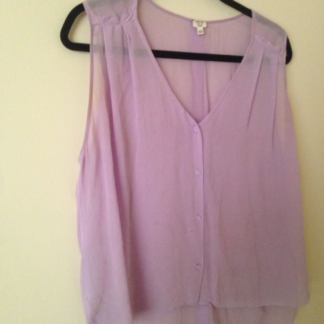 100% Silk Wilfred Blouse