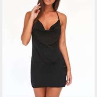 Tiger Mist Black Dress