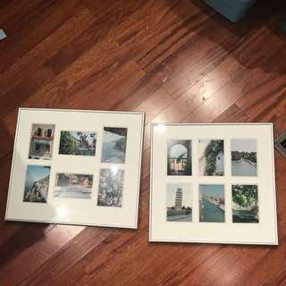 REDUCED: Silver Photo Frames