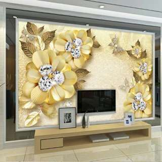 3D Wallpaper Design And installation