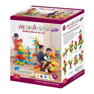 Massbricks -40 Pcs